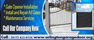 Gate Opener Repair and Installation Arlington, Dallas