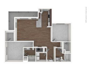 Sub-lease 2 Bed 2 Bath Apartment