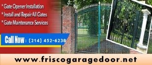 Gate Opener Repair and Installation Starting $26.95 | Frisco, Dallas