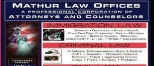 Mathur Law Offices-Dallas-Texas