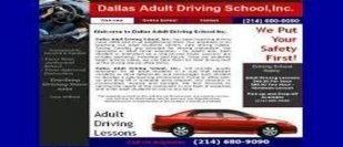 Dallas Adult Driving School Inc-Dallas-Texas
